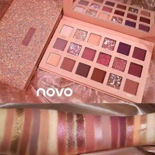 Bảng phấn mắt Novo Cindella tone 1 SALE SẬP SÀN LUÔN CẢ NHÀ ƠI thumbnail