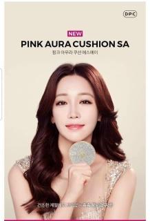 Phấn nước cushion DPC Pink Aura bản đính đá limited SPF 50+PA+++ thumbnail