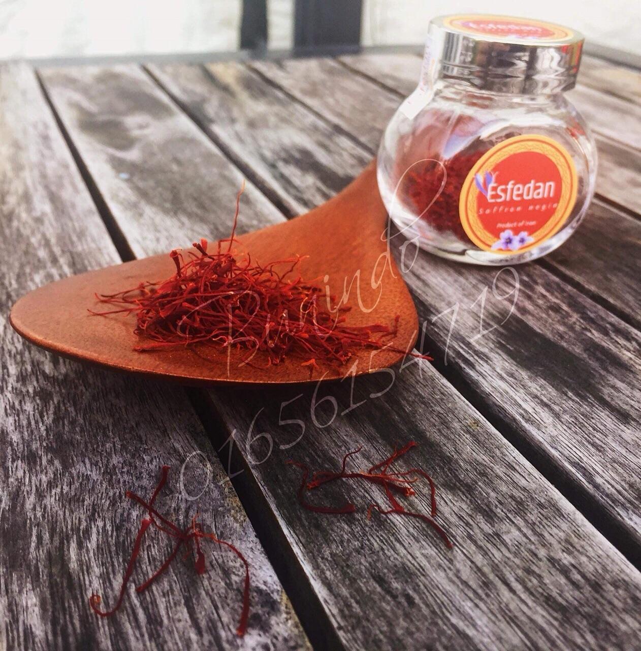 0.5g Saffron Nhuỵ Hoa nghệ tây Loại Negin thượng hạng tốt nhất