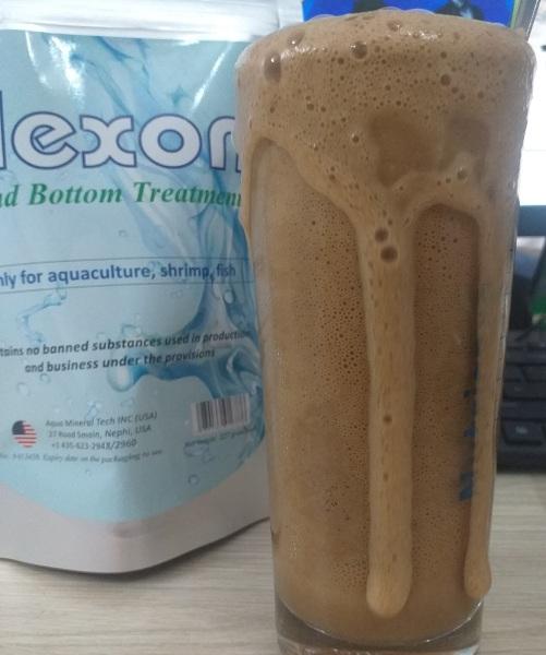 Enzym sạch bạt, hết nhớt bạt, làm sạch đáy ao, khử khí độc NO2, H2S. NH3 (Gói 227gram)
