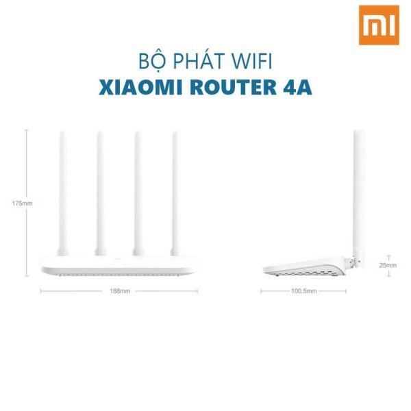 Bảng giá Bộ Phát Wifi Xiaomi Router 4A Công Suất 2.4 GHz và 5 Ghz 4 Angten 16MB ROM 64RAM DDR3 - Bảo hành 12 tháng - Thế Giới Gia Dụng 4.0 Phong Vũ