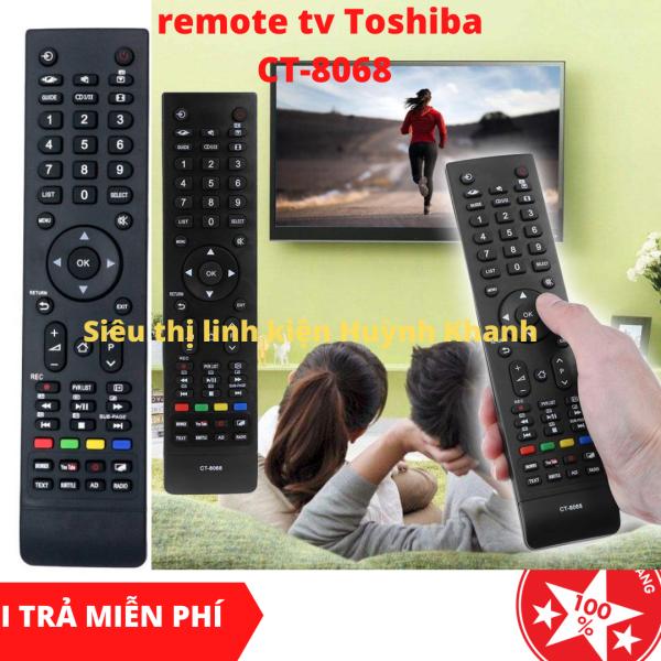 Bảng giá REMOTE TV TOSHIBA CT-8068 CHÍNH HÃNG