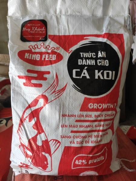 Cám cá Koi tăng trưởng King Feed-42%đạm (5kg)