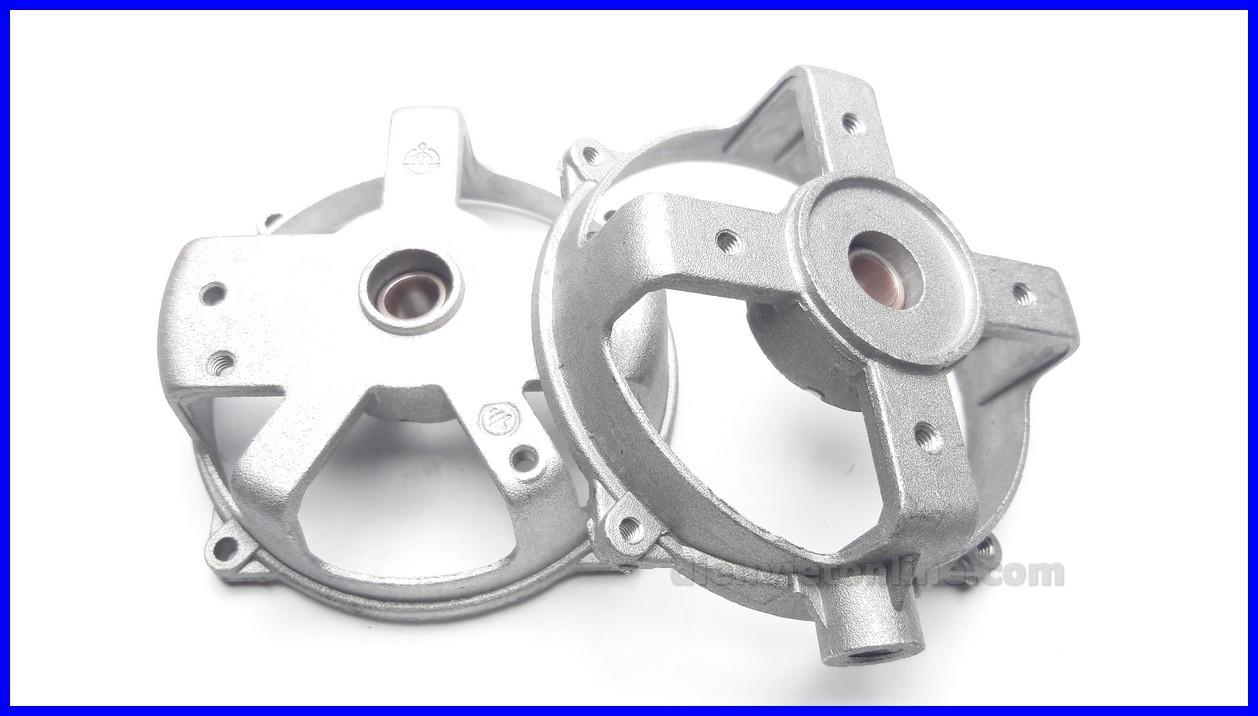 Bộ nắp nhôm quạt, khung đầu quạt cao cấp ( nắp trước + nắp sau ) - Điện Việt