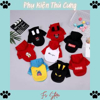 Áo Cho Chó, Áo Chó Mèo, Áo Hoodie dành cho thú cưng, đủ size xs - xxl, A6 thumbnail