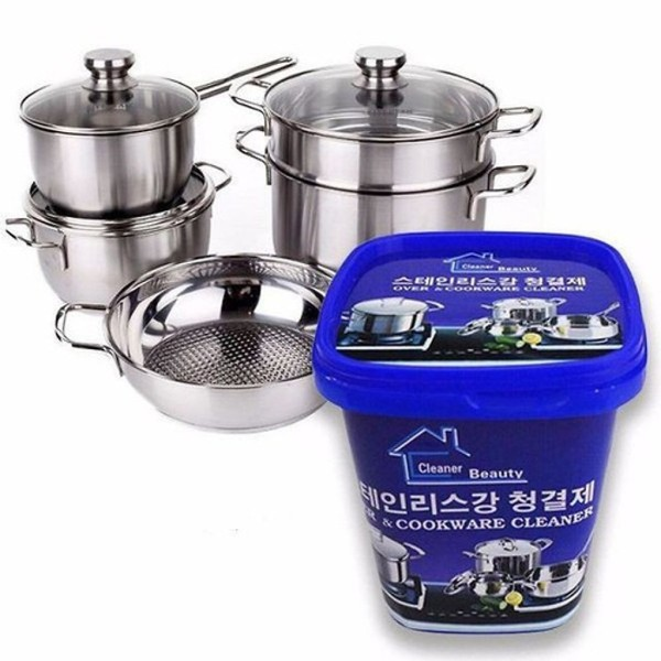 [ KHUYẾN MÃI ] Kem tẩy xoong nồi, inox, sắt thép Hàn Quốc loại lớn
