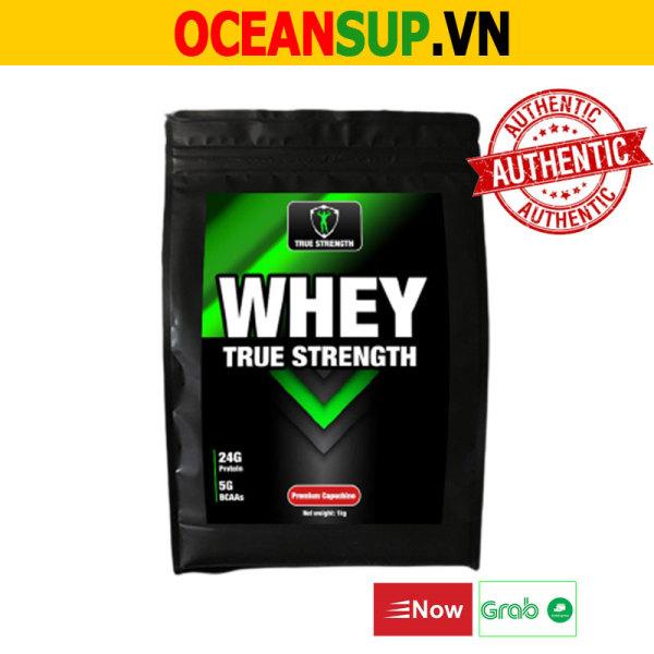 Whey Protein Whey True Strength - Tăng Cơ Giảm Mỡ - Bịch 1kg