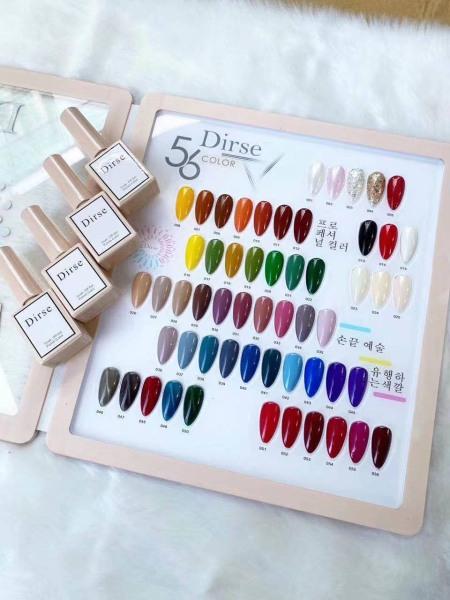 Set sơn móng tay Diser 56 màu tặng bảng màu và 4 chai base top