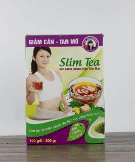 TRÀ GIẢM CÂN - TAN MỠ SLIM TEA TRẦN MAO thumbnail