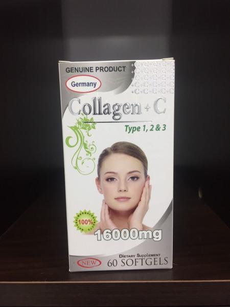 COLLAGEN+C (đẹp da, giảm thâm nám tàn nhang, ngừa nếp nhăn, chống lão hóa - 60 viên)