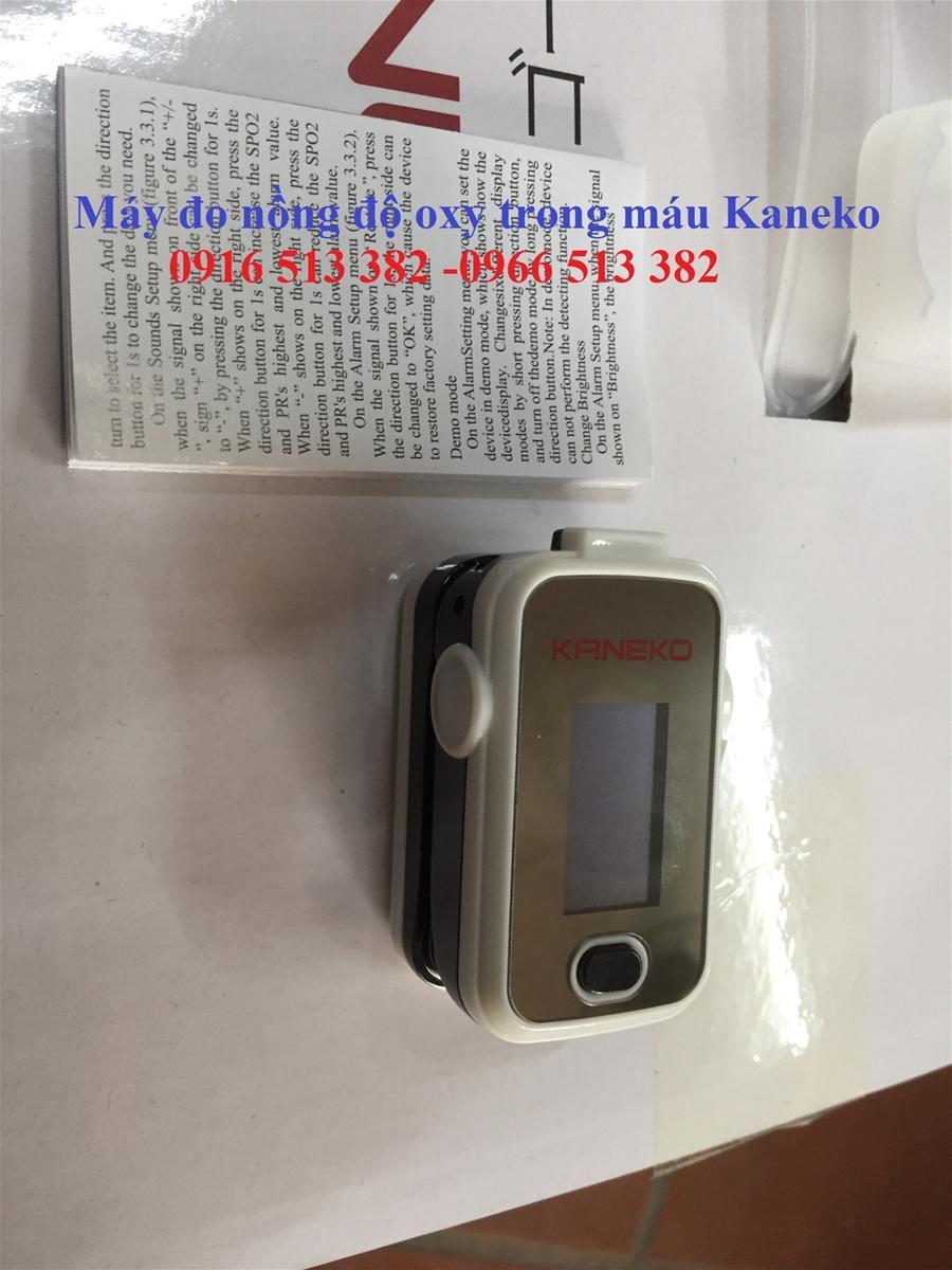 Máy đo nồng độ oxy trong máu dạng kẹp ngón tay KANEKO bán chạy