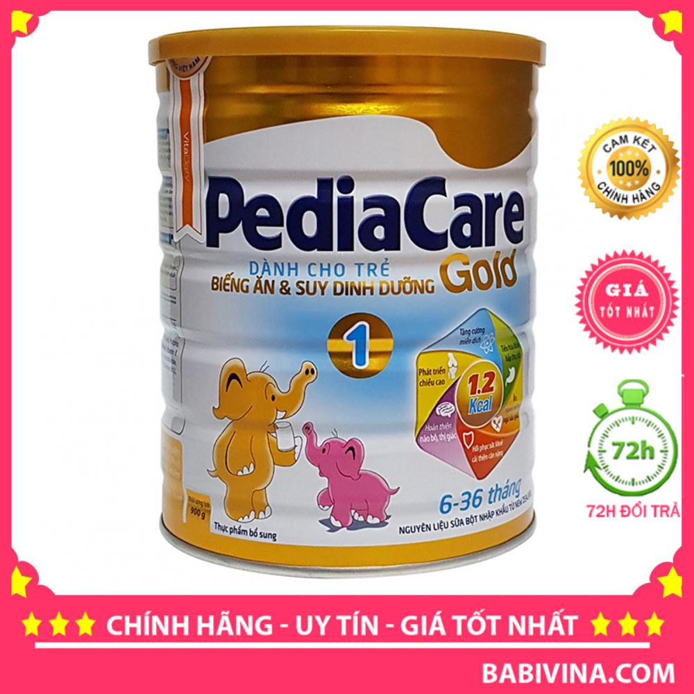 Sữa Bột Pediacare Gold 1 900g (Pedia care)