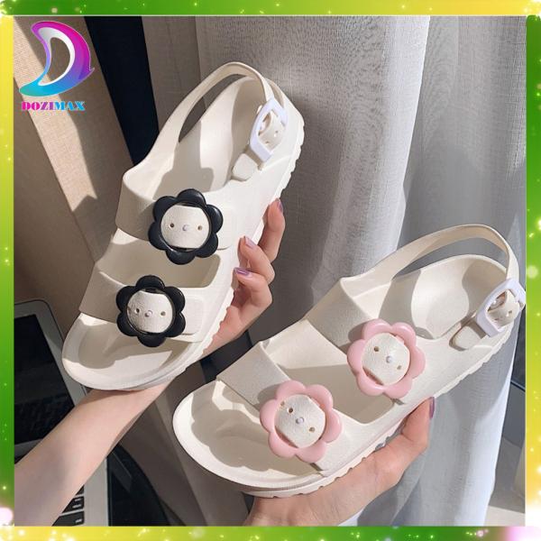 giày sandal nữ đi học cấp 3 rẻ, sandal nữ đi học quai nhựa chống nước chống trơn trượt CAO CẤP mang siêu bền- DOZIMAX