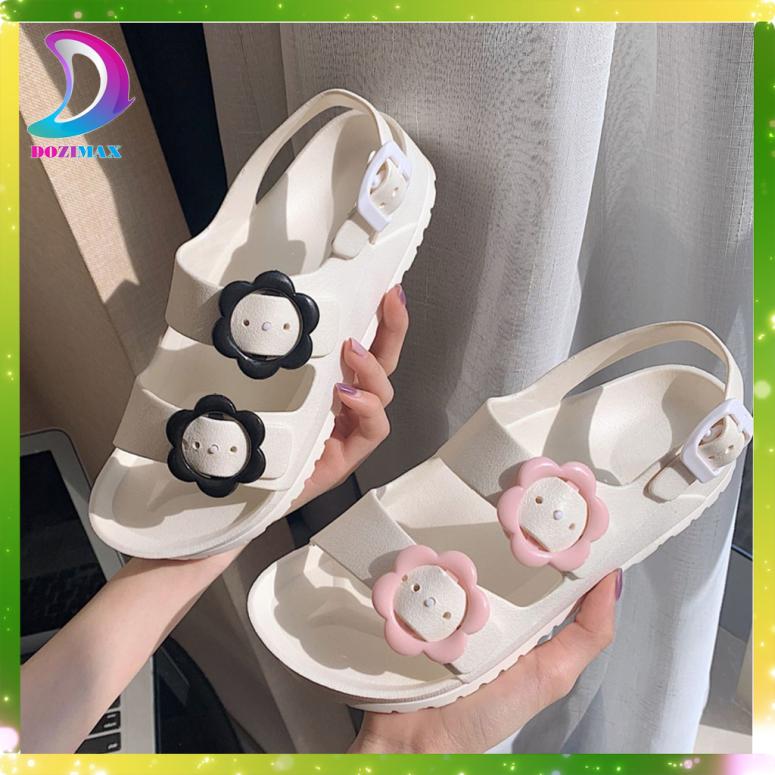 giày sandal nữ đi học cấp 3 rẻ, sandal nữ đi học quai nhựa CAO CẤP- DOZIMAX giá rẻ