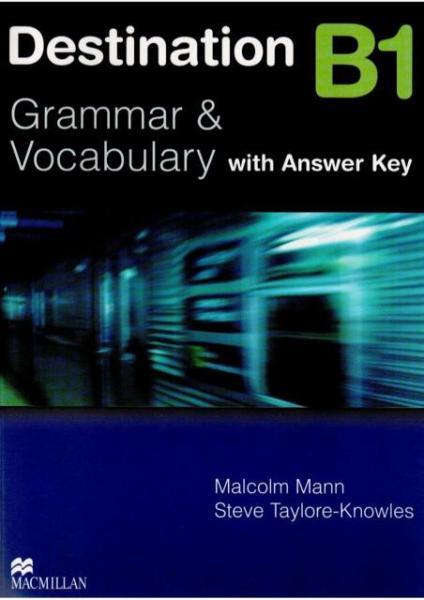 Sách - Destination B1 Grammar and Vocabulary Tặng Kèm Bookmark