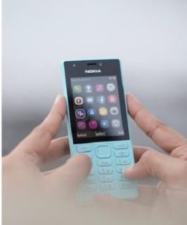 điện thoại giá rẻ nokia 216 2sim chính hãng,đủ màu,kèm pin sạc thumbnail