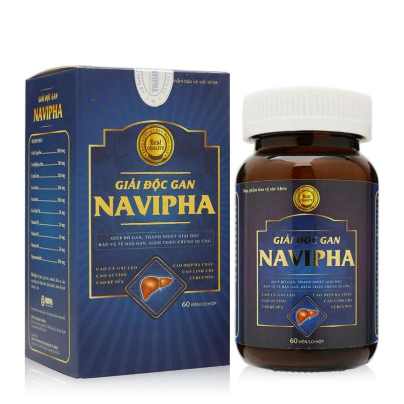 Viên uống giải độc gan Navipha từ cao dược liệu