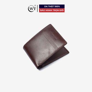 Ví Da Nam Da Bò Cao Cấp Màu Nâu, Màu Đen WT Leather 0131.1, 0131.2 thumbnail