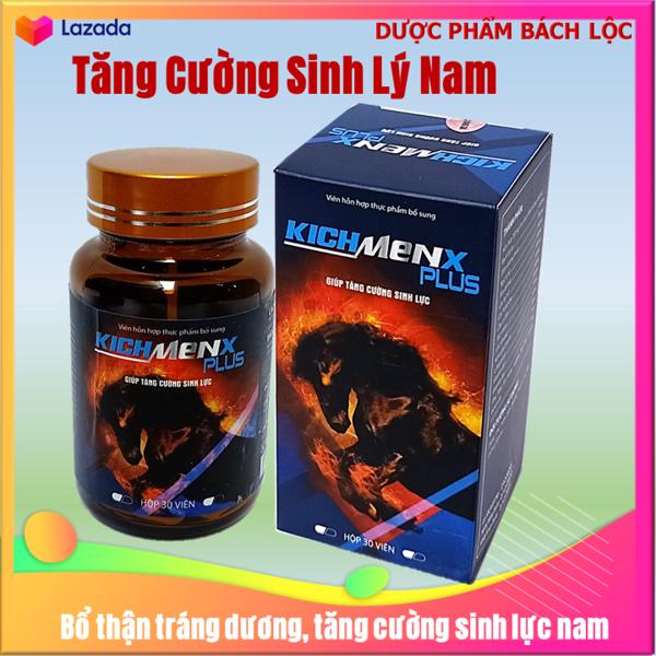 [30 viên]  Viên Uống Tăng cường sinh lý cực mạnh KichMenx Plus - Giúp tăng cường sinh lý mạnh hơn, bền vững hơn- hôp 28 viên giá rẻ
