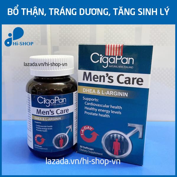 Viên uống Nhung hươu CigaPan Men Care tăng cường sinh lý nam bổ thận tráng dương - Hộp 30 viên