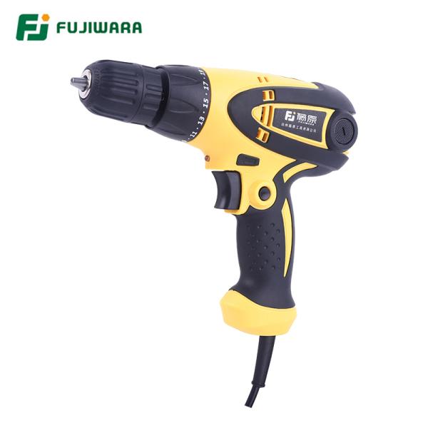 FUJIWARA 350-420W May Khoan Cam Tay Electric Screwdriver điện Tác động Khoan 220V-240V Vít Wrench 19 Tốc độ Có Thể điều Chỉnh