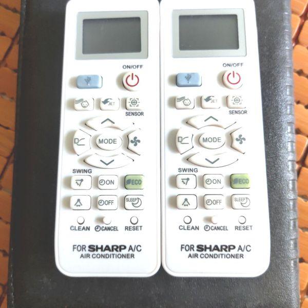 Bảng giá Remote điều khiển điều hoà không khí Sharp loại nhỏ