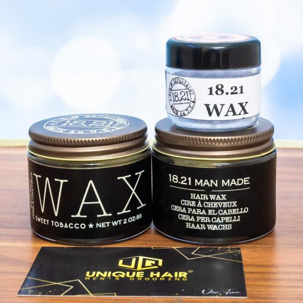 Chiết Dùng Thử : Sáp vuốt tóc 18.21 Man Made Wax  ! Travel Size 10-20-30g