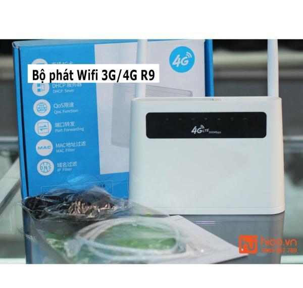 Bảng giá Bộ Phát Wifi 3G/4G R9 – Tốc Độ Cao – Hỗ Trợ Cổng LAN/WAN – Kết Nối 32 Thiết Bị Phong Vũ