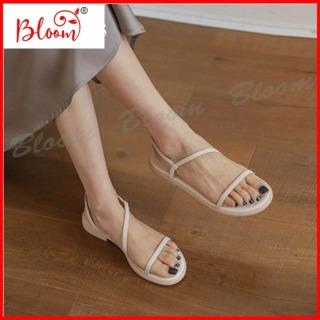 [HCM]Giày sandal nữ đi học đế bằng YUKIBLOOM Giày sandal nữ kiểu Hàn Quốc Cao Cấp nhẹ nhàng G06 thumbnail