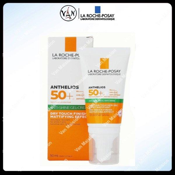 [La Roche-Posay] Kem chống nắng kiểm soát dầu la roche posay anthelios anti-shine gel-cream spf50+ 50ml - Mẫu mới