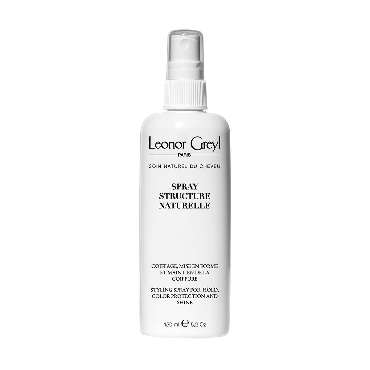 Keo xịt tóc giữ cứng kiểu tóc dạng nước Leonor Greyl - Styling Spray Structure Naturelle 150ml