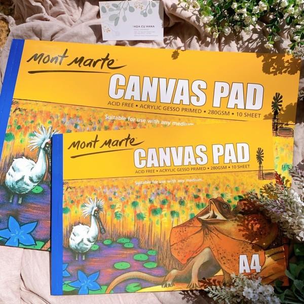 Mua Canvas Pad Mont Marte - Canvas dạng sổ