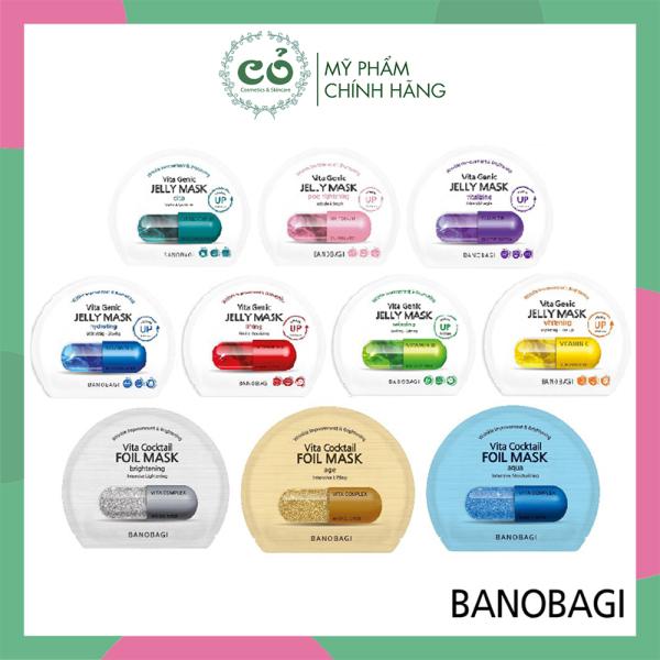 Mặt Nạ Giấy Bổ Sung Vitamin Cho Da BANOBAGI Vita Mask 30g cao cấp