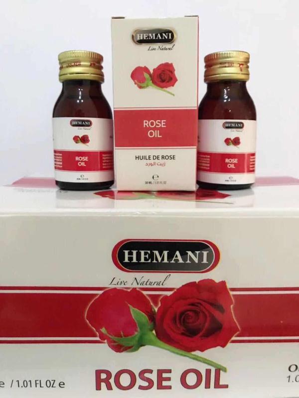 Tinh chất hoa hồng ROSE OIL HEMANI 30ml