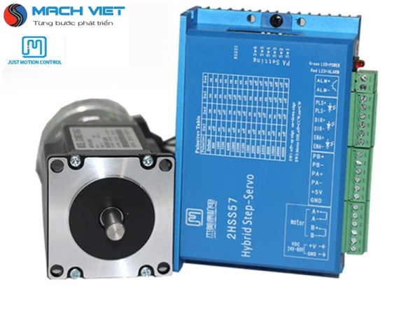 Bộ động cơ Hybrid Servo JMC 2.2Nm 57J1880EC-1000 và Driver 2HSS57