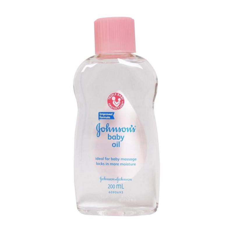 Dầu massage và dưỡng ẩm Johnson Baby Oil