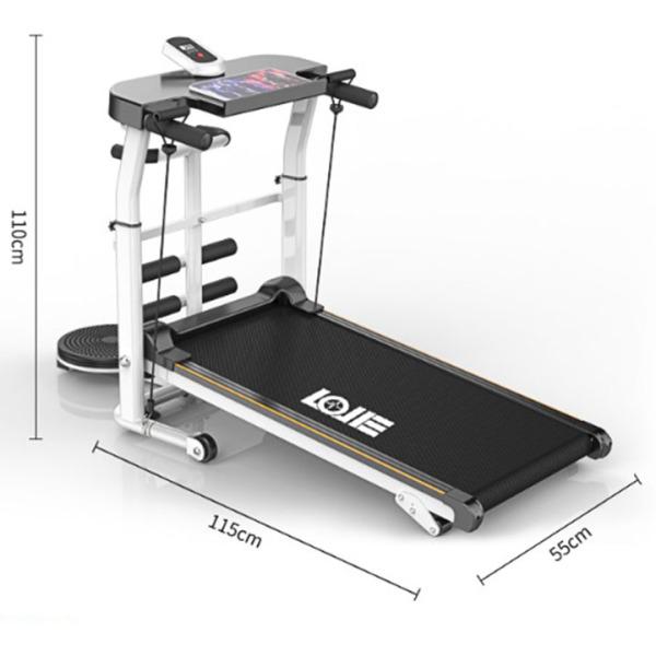 máy chạy bộ đa năng tập bụng eo tay tại nhà gấp gọn - máy thể dục chạy bộ bằng cơ