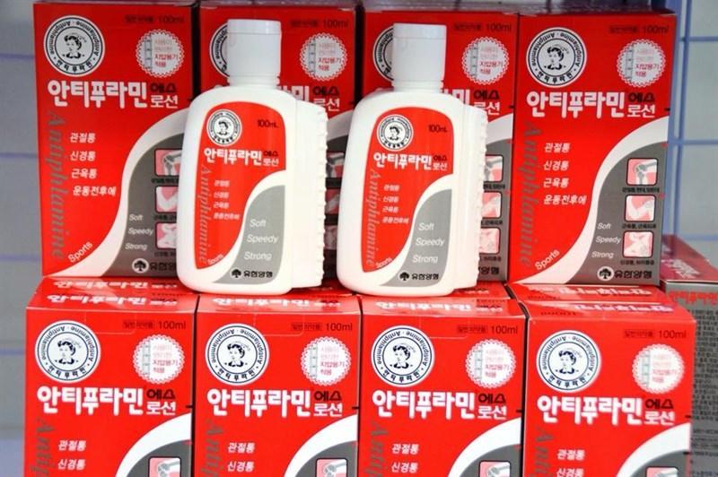 COMBO 10 CHAI DẦU NÓNG HÀN QUỐC XOA BÓP ANTIPHLAMINE 100ML nhập khẩu