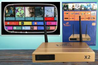 ĐẦU ANDROID TV BOX VINABOX X2, PHIÊN BẢN MỚI, FULL ỨNG DỤNG