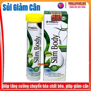 Viên Sủi Giảm Cân Slim Body Pluss-Giúp Tăng Cường Chuyển Hóa Chất Béo, Hỗ Trợ Giảm Cân An Toàn Hiệu Quả- Tuýp 20 viên 3