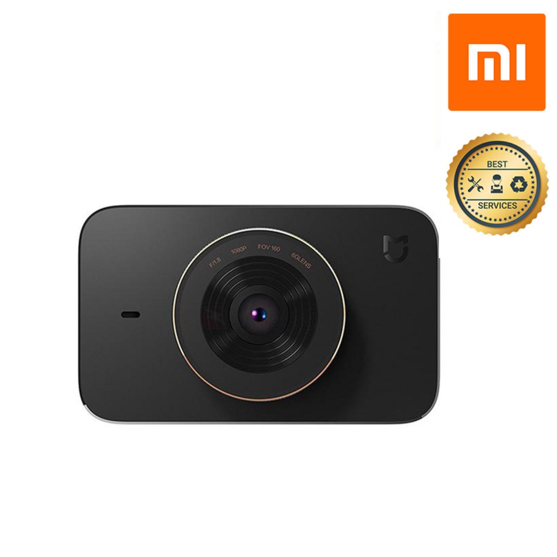 Camera hành trình Xiaomi Mi Dashcam Mijia Car DVR 1080P Quốc Tế Góc rộng 160 độ Full HD - Hàng Chính Hãng