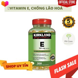Kirkland Viên Uống Bổ Sung Vitamin E 180mg 500 Viên thumbnail