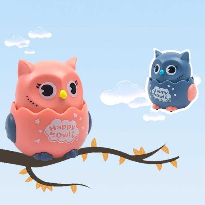 Đồ chơi hình chim cú cho bé chạy và xoay 360 độ Happy Owl 8x6x7cm |  Lazada.vn