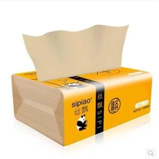 Giấy ăn than tre gấu trúc DAI SIPIAO giấy dai bền bền đẹp không chất tẩy trắng thumbnail