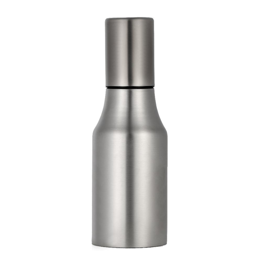 500ml(13us gal) Fashion Stainless Steel Dustproof Leakproof Oil Pot Drop Sauce Vinegar Bottle Kitchen Supply Cruet