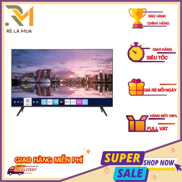 Bảng giá Smart Tivi Samsung 4K 43 inch 43TU8100 - Hệ điều hành Tizen OS, Tần số quét thực 120 Hz, Tổng công suất loa 20W