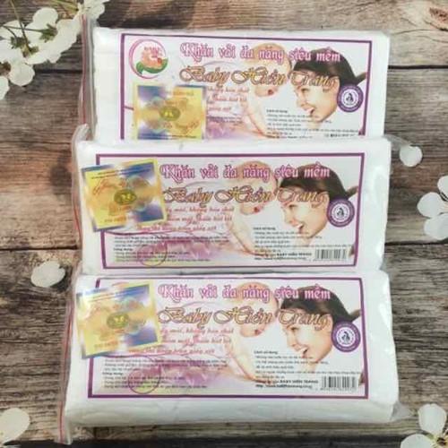Khăn khô đa năng baby Hiền Trang (150 tờ)