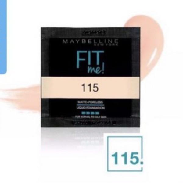 [Siêu Tiện Lợi ] ✔️Sample Kem Nền Mịn Lì Maybelline Fit Me Matte + Poreless giá rẻ