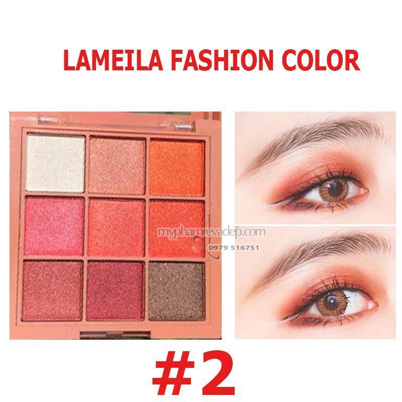 Phấn mắt 9 ô Lameila Fashion Color