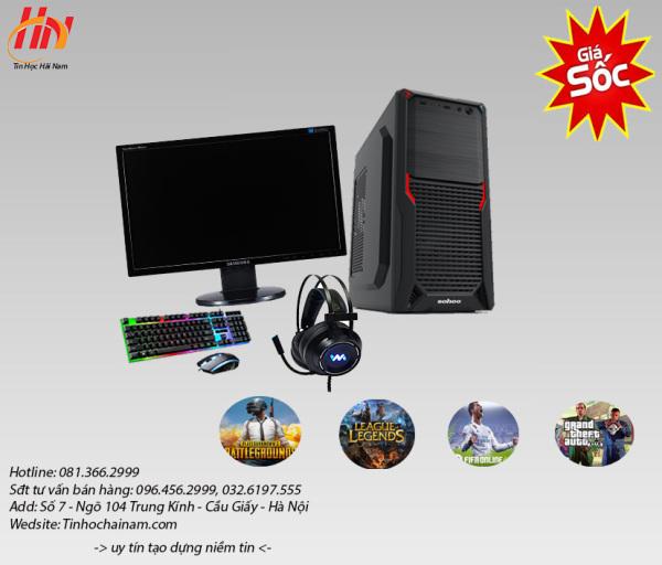 Bảng giá [Trả góp 0%]Bộ máy tính chiến game LOL CF FIFA max setting Core I3-2120 Ram 4G Phong Vũ